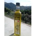 Virgin olive oil, bottle of 500 ml