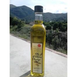 Oli d'oliva verge, ampolla de 500 ml